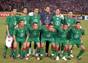 equipe du maroc